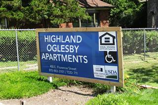 Apartment for rent in Highland Oglesby Apartments, Oglesby, IL, 61348