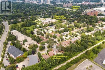 Multi-family Home for sale in 197 BRANDON Avenue, Kitchener, Ontario, N2M2J2
