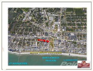 Land for sale in 309 8th Avenue North, Myrtle Beach, SC, 29577
