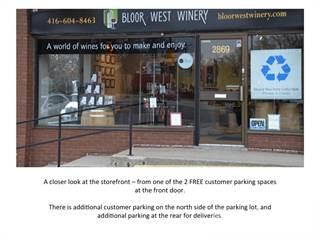 Comm/Ind for sale in 2869 Bloor street west, Toronto, Ontario