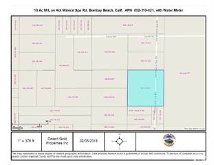 Lots And Land for sale in 0 Hot Mineral Spa Rd, East Imperial, CA, 92257