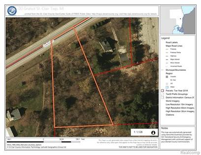 Lots And Land for sale in 00 GRATIOT Road, Smiths Creek, MI, 48074