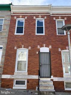 Residential Property for sale in 2687 DULANY ST, Baltimore City, MD, 21223