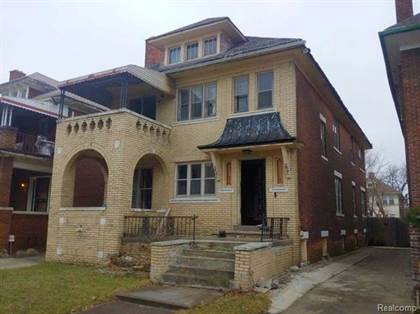 Multifamily for sale in 2475 TAYLOR Street, Detroit, MI, 48206