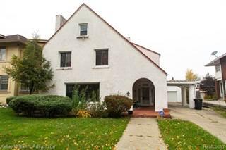 Single Family for sale in 575 E BOSTON Boulevard, Detroit, MI, 48202