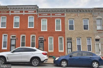 Residential for sale in 537 N WASHINGTON STREET, Baltimore City, MD, 21205
