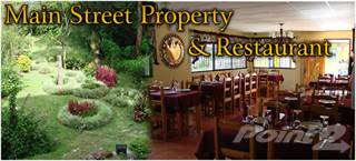 Comm/Ind for sale in Main Street Property with Operating Restaurant in Downtown, Boquete -, Boquete, Chiriquí