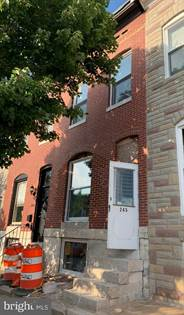 Residential Property for sale in 245 S BOULDIN STREET, Baltimore City, MD, 21224
