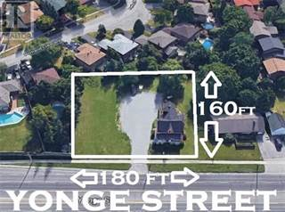 Land for sale in 17867 YONGE ST, Newmarket, Ontario