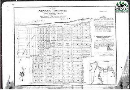 Lots And Land for sale in L11 & 12 3RD STREET, Nenana, AK, 99760