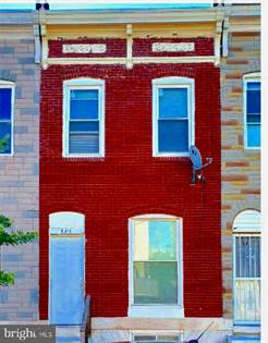 Residential for sale in 841 N MONTFORD AVENUE, Baltimore City, MD, 21205