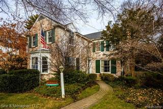 Single Family for sale in 346 MOSELLE PL, Grosse Pointe Farms, MI, 48236
