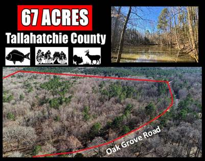 Lots And Land for sale in Oak Grove Road - Charleston - Tallahatchie CO, Charleston, MS, 38921