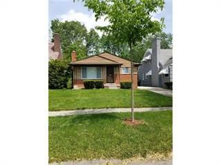 Single Family for sale in 16208 GREENVIEW Avenue, Detroit, MI, 48219