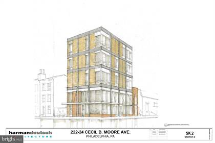 Lots And Land for sale in 222-24 CECIL B MOORE AVENUE, Philadelphia, PA, 19122