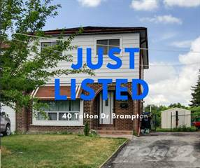 Residential for sale in 40 Tolton Dr, Brampton, Ontario, L6V 2R1