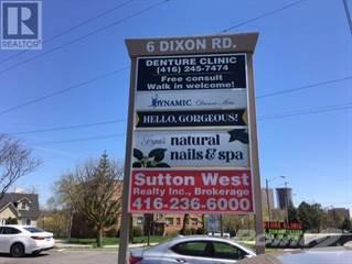 Retail Property for rent in #2,3 -6 DIXON RD 2,3, Toronto, Ontario