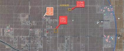 Lots And Land for sale in 0 La Mesa RD, Victorville, CA, 92392