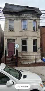 Residential Property for sale in 1538 Hoe av, Bronx, NY, 10460