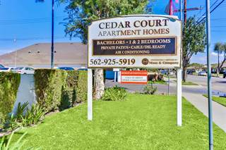 Apartment for rent in Cedar Court Apartments, Bellflower, CA, 90706