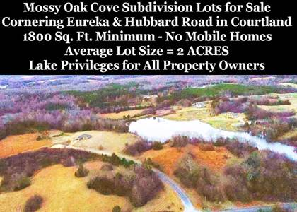 Lots And Land for sale in Lot 53 Cherry Bark Lane, Courtland, MS, 38620