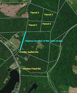 Lots And Land for sale in 00 Chitlin Switch Road, North, VA, 23128