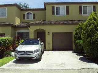 Townhouse for sale in 2165 SW 101st Way 2165, Miramar, FL, 33025