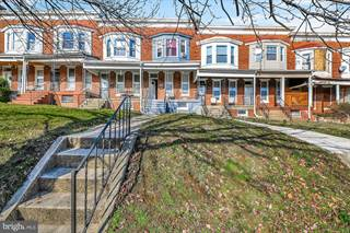 Townhouse for sale in 2840 CLIFTON AVENUE, Baltimore City, MD, 21216