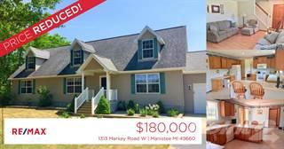 Residential Property for sale in 1313 Merkey Road W, Greater Oak Hill, MI, 49660