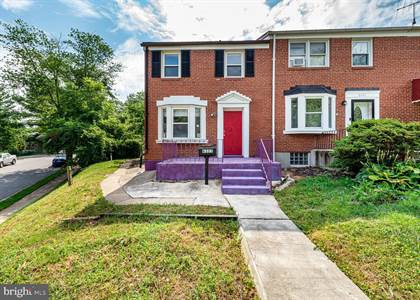 Residential for sale in 6323 LEITH WALK, Baltimore City, MD, 21239