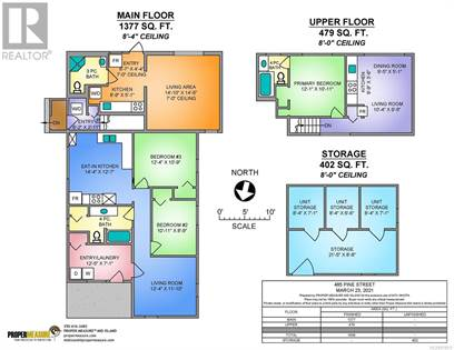 Single Family for sale in 485 Pine St, Nanaimo, British Columbia, V9R2C5