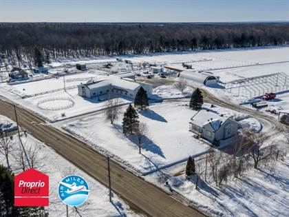 Farm And Agriculture for sale in 154-156 Rg Point-du-Jour N., Lavaltrie, Quebec, J5T3P8
