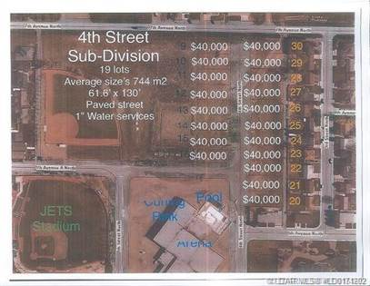 Lots And Land for sale in 606 4 Street N, Vauxhall, Alberta, T0K 2K0