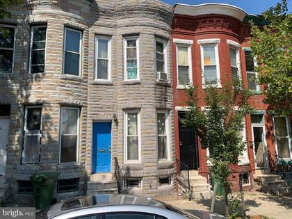 Residential Property for sale in 1516 N MOUNT ST, Baltimore City, MD, 21217