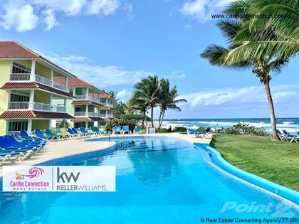 Condominium for rent in AMAZING BEACHFRONT APARTMENT WITH STUNNING OCEAN VIEW JUST A FEW STEPS FROM THE WATER, Cabarete, Puerto Plata