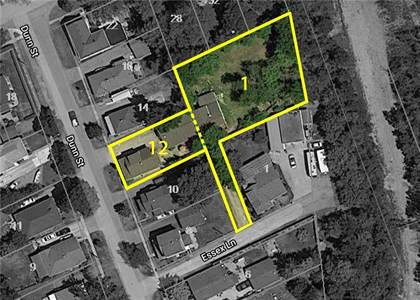 Multi-family Home for sale in 12 DUNN ST / 1A ESSEX Lane, St. Catharines, Ontario, L2T1P5