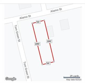 Lots And Land for sale in 1015 Alamo Street, Sweetwater, TX, 79556