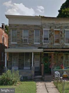 Residential Property for sale in 3219 WESTWOOD AVENUE, Baltimore City, MD, 21216