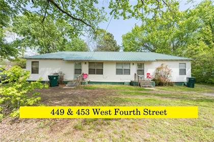Multifamily for sale in 449 & 453  W Fourth  ST, Booneville, AR, 72927