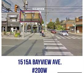 Apartment for rent in 1515A Bayview Ave., Toronto, Ontario