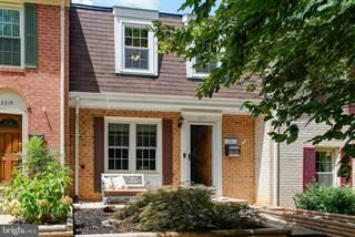 Townhouse for sale in 2317 DUKE OF BEDFORD COURT, Reston, VA, 20191