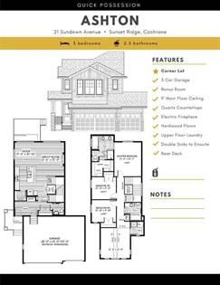Single Family for sale in 21 Sundown Avenue, Cochrane, Alberta, T4C2T3