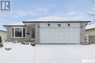 Single Family for sale in 70 BRONTE Crescent, Barrie, Ontario
