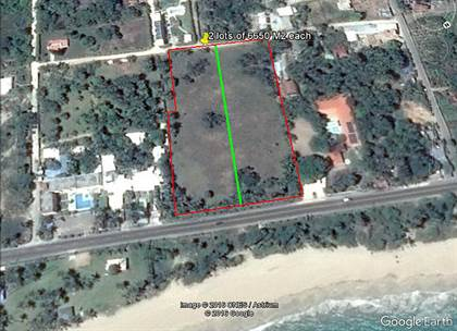 Lots And Land for sale in Two lots across from the beach Cabarete highway, Cabarete, Puerto Plata