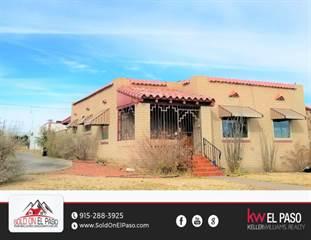 Residential Property for sale in 3801 Nashville Avenue, El Paso, TX, 79930