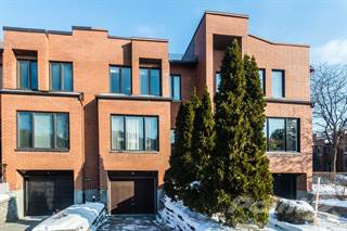 Townhouse for sale in 1527 Rue Victor-Hugo, Montreal, Quebec