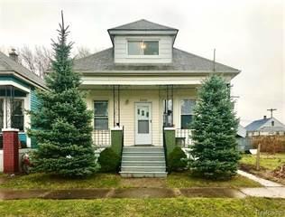 Duplex for rent in 3340 BURNSIDE Street, Detroit, MI, 48212