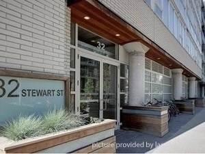 Condominium for rent in 32 Stewart St 404, Toronto, Ontario, M5V3T2