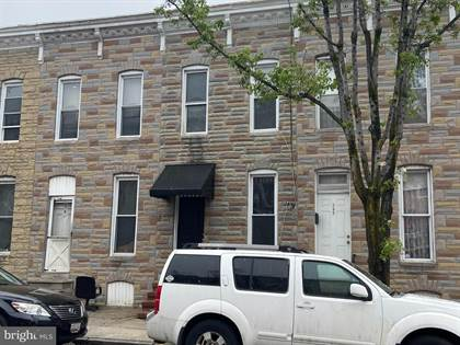 Residential Property for sale in 343 S MONROE ST, Baltimore City, MD, 21223