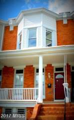 Townhouse for sale in 344 ILCHESTER AVE, Baltimore City, MD, 21218